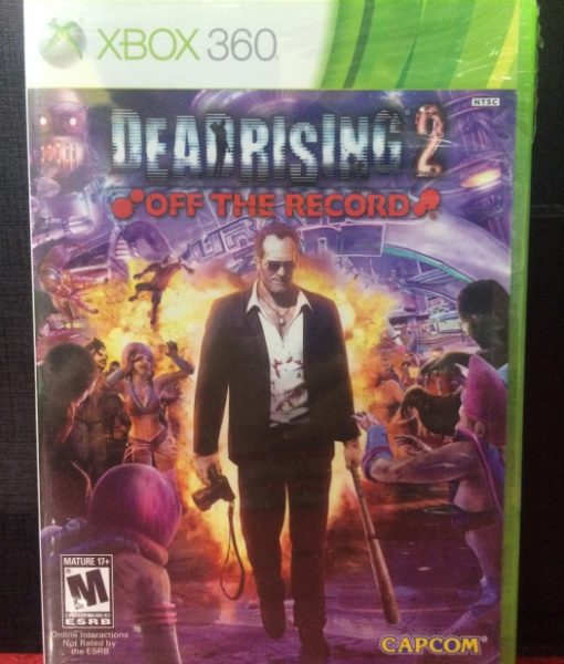 360 Dead Rising 2 Off the Record game