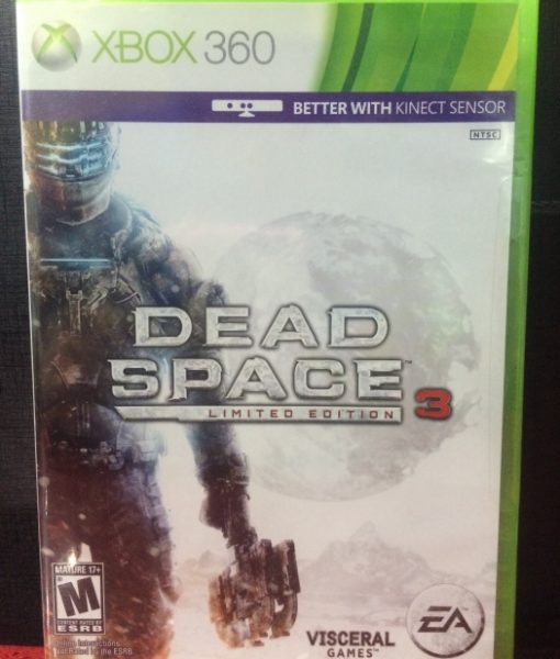 360 Dead Space 3 Limited game