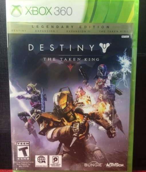 360 Destiny The Taken King Legendaria game