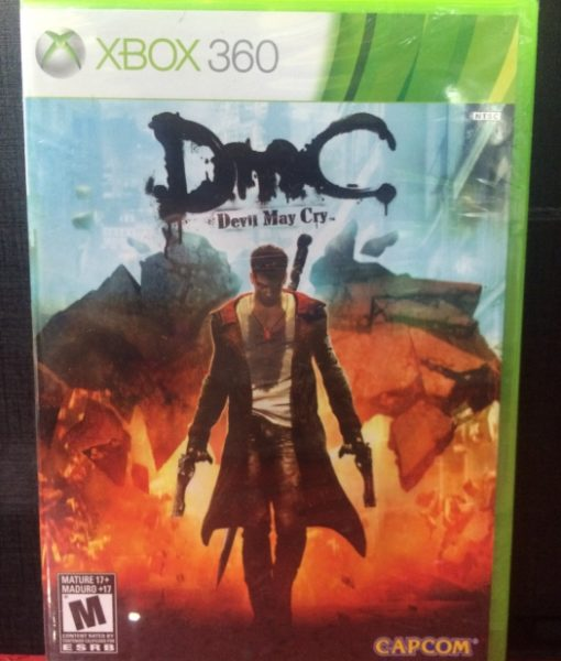 360 Devil May Cry 5 DMC game