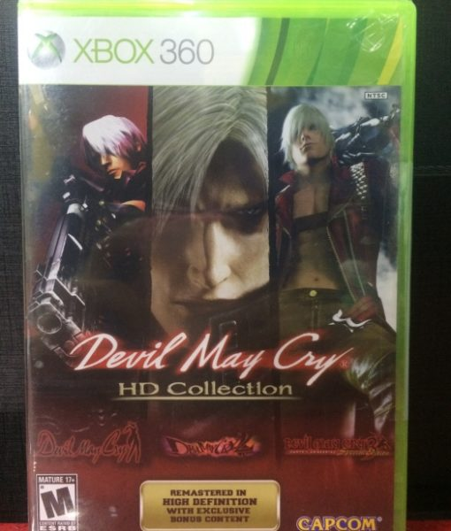 360 Devil May Cry HD Collection game