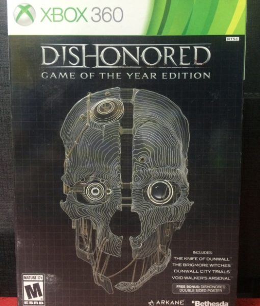 360 DisHonored game year