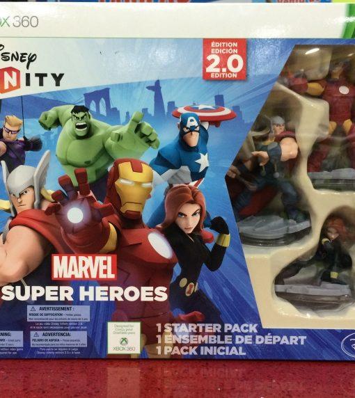360 Disney Infinity 2.0 Marvel Starter game