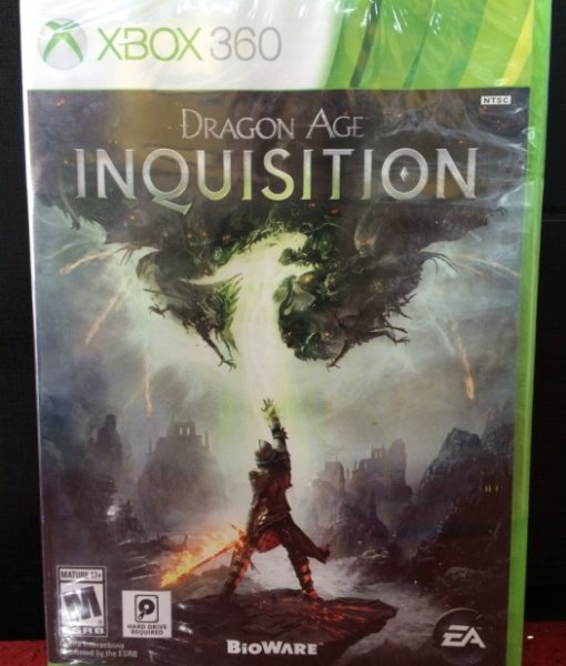360 Dragon Age Inquisition game