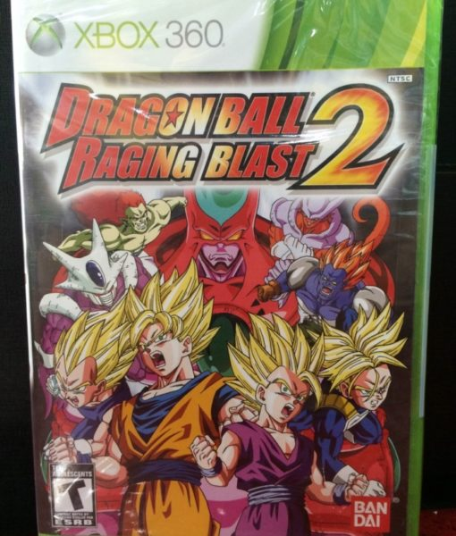 360 Dragon Ball Raging Blast 2 game