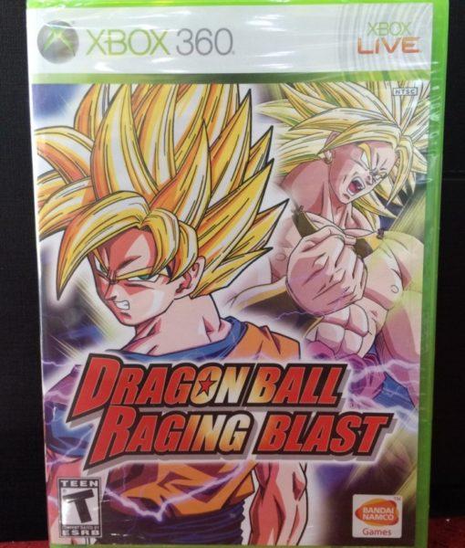 360 Dragon Ball Raging Blast game