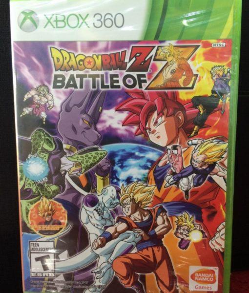 360 Dragon Ball Z Battle of Z game