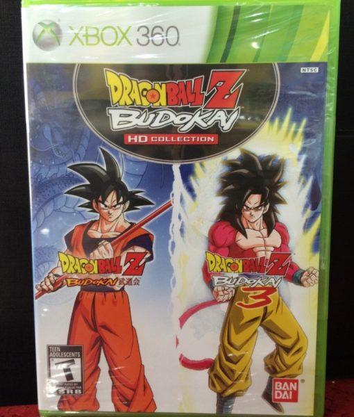 360 Dragon Ball Z Budokai HD Collection game