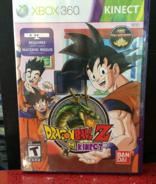 360 Dragon Ball Z Kinect game