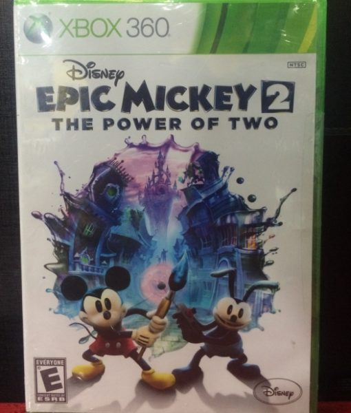 360 Epic Mickey 2 Power of Two game