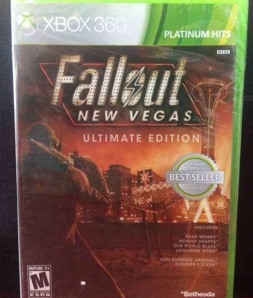 360 Fallout New Vegas game