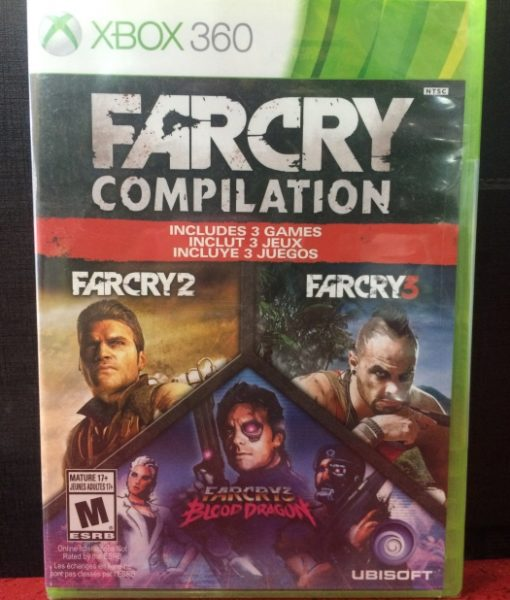 360 FarCry 3 Compilation game