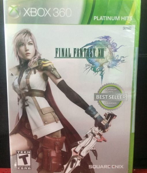 360 Final Fantasy XIII game