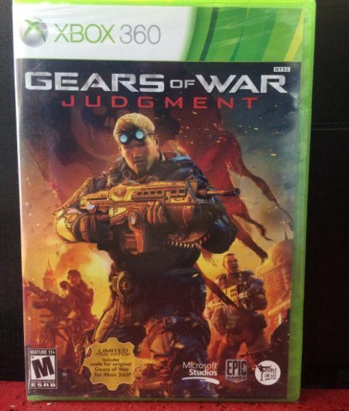 360 Gears of War Judgment game