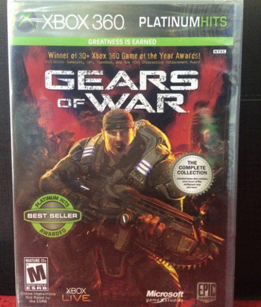 360 Gears of War game