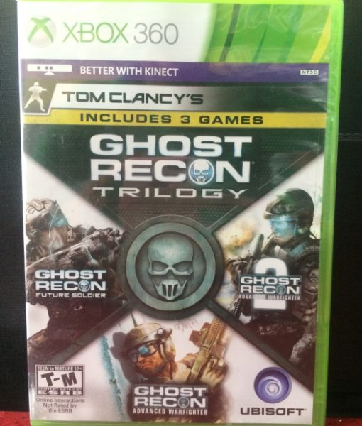 360 Ghost Recon Trilogy game