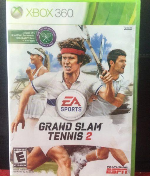 360 Grand Slam Tennis 2 game