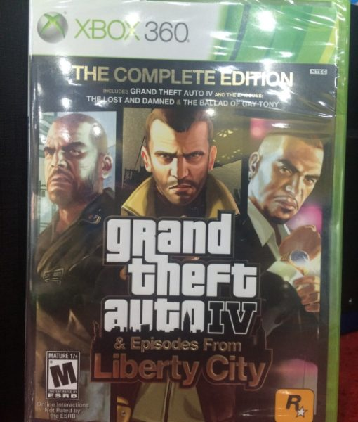 360 Grand Theft Auto IV Complete Edition game