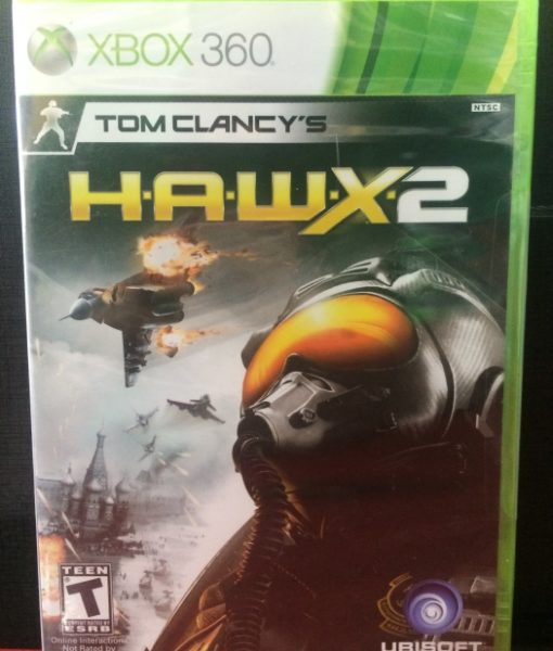 360 HAWX 2 game