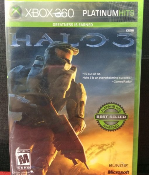 360 Halo 3 game