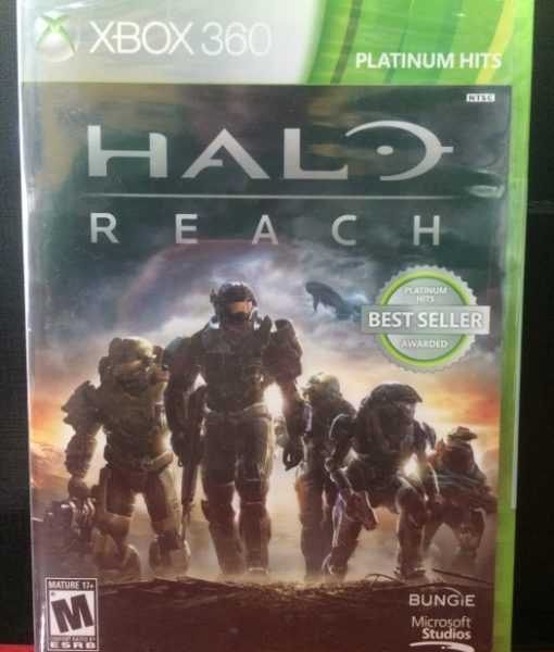 360 Halo Reach game
