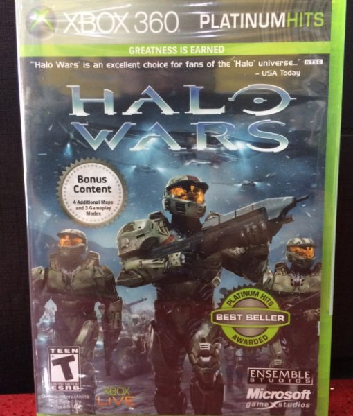 360 Halo Wars game