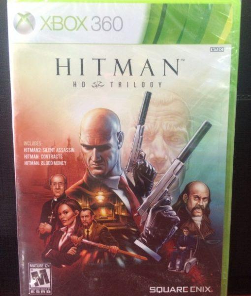 360 Hitman HD Trilogy game