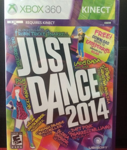 360 Just Dance 2014 game