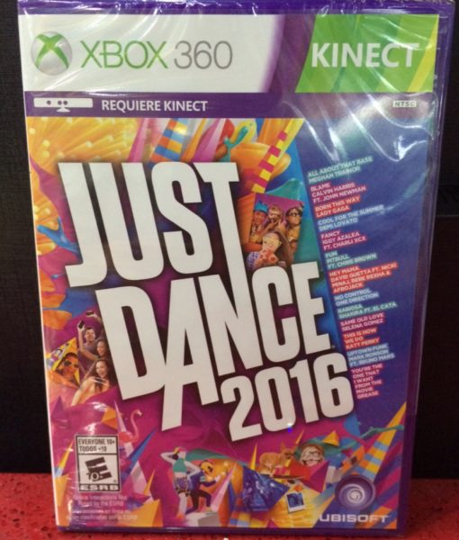 360 Just Dance 2016 game