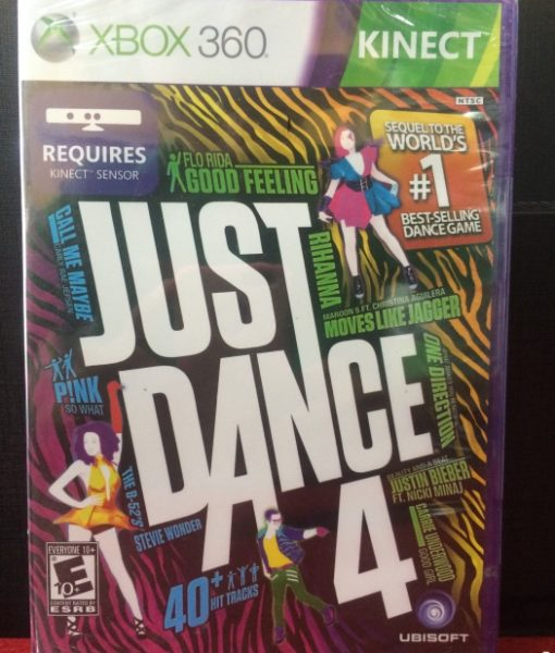 360 Just Dance 4 Kinect game