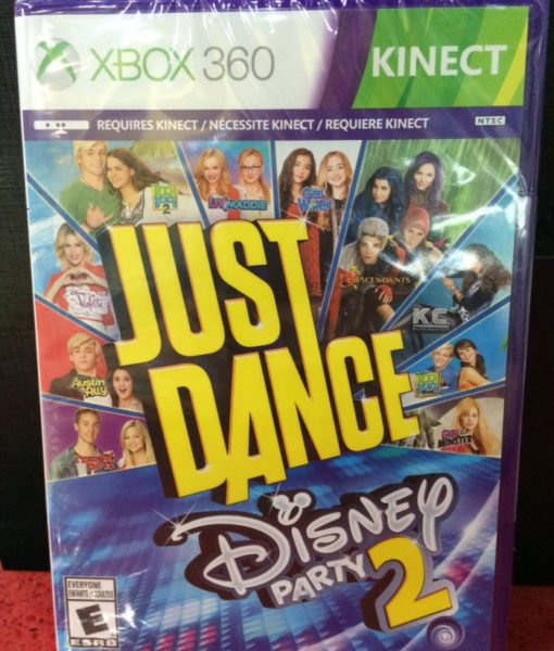 360 Just Dance Disney Party 2 game