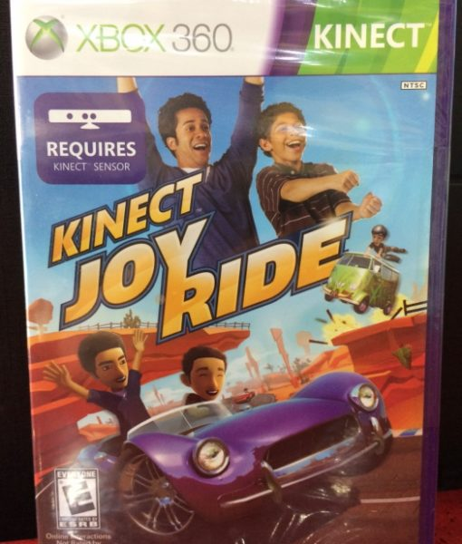 360 Kinect Joy Ride game