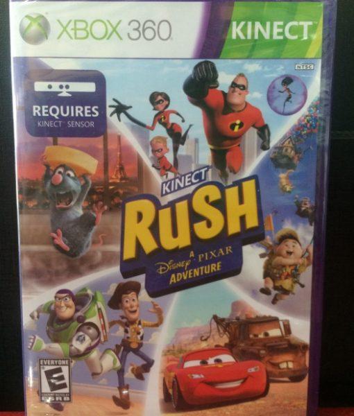 360 Kinect Rush Pixar Adventure game
