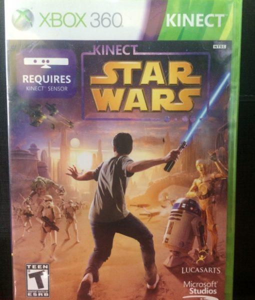 360 Kinect Star Wars game