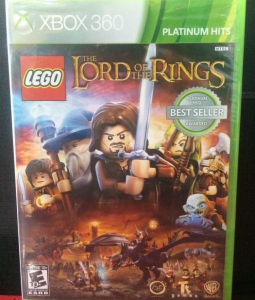 360 LEGO Lords of the Rings game