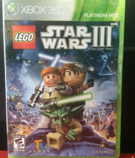 360 LEGO Star Wars III Clone Wars game