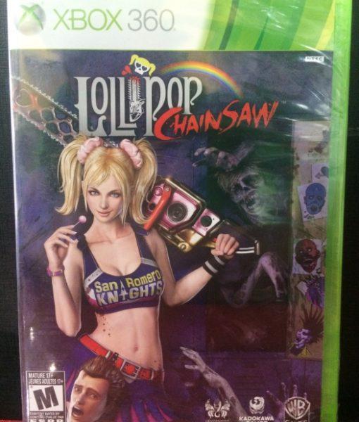 360 Lollipop ChainSaw game