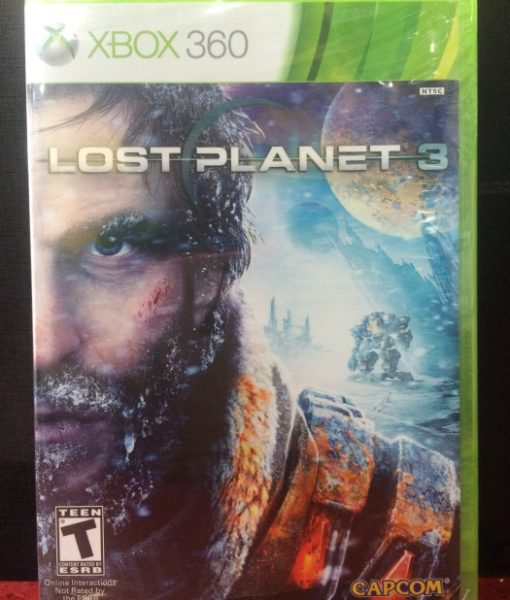 360 Lost Planet 3 game