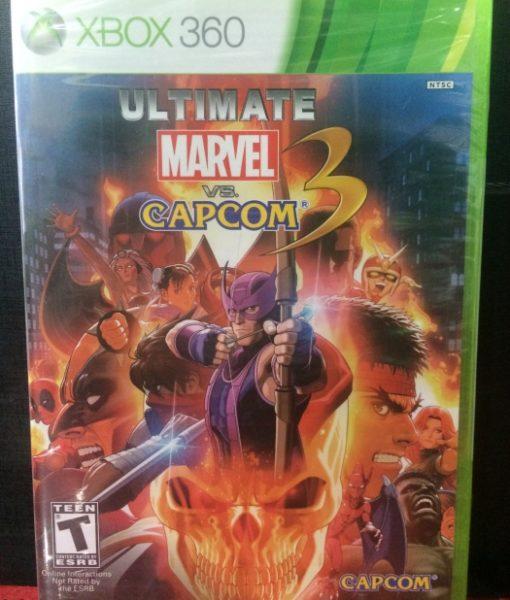 360 Marvel vs Capcom 3 Ultimate game