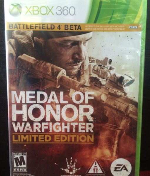 360 Medal of Honor Warfighter game