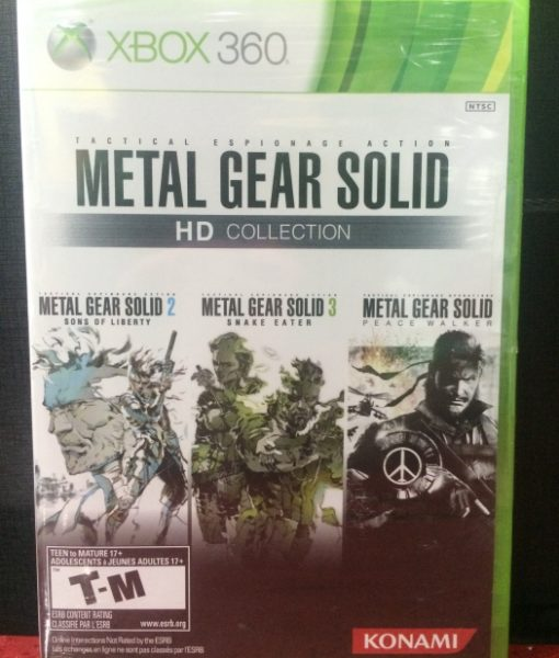 360 Metal Gear Solid HD Collection game