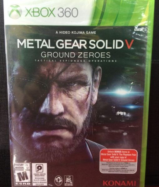 360 Metal Gear Solid V Ground Zeroes game