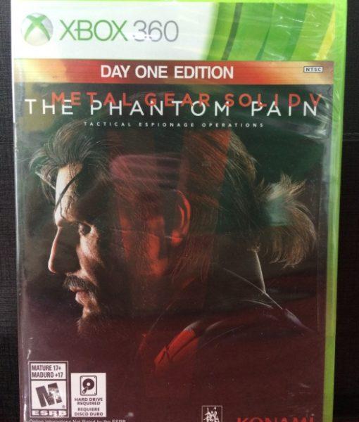 360 Metal Gear Solid V The Phantom Pain game