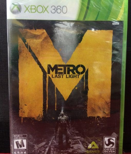 360 Metro Last Light game