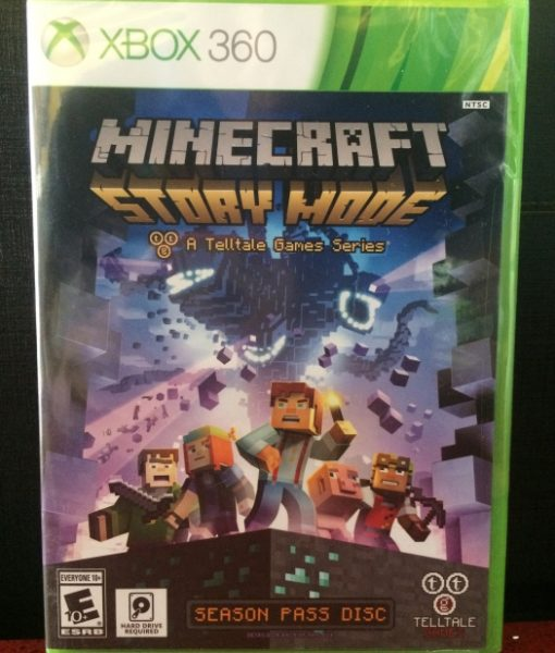 360 Minecraft Story Mode game
