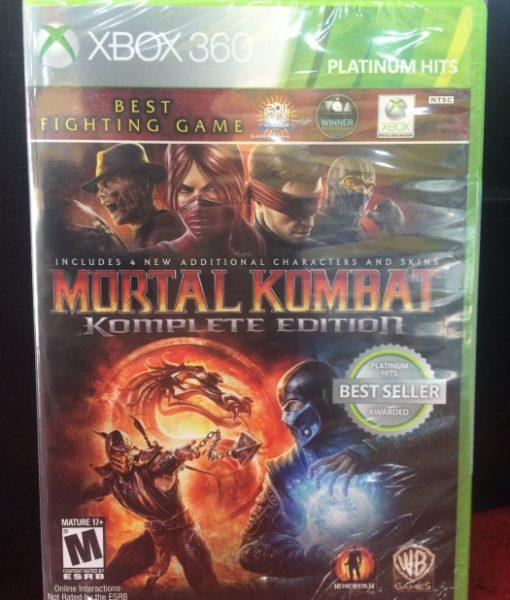 360 Mortal Kombat Komplete game
