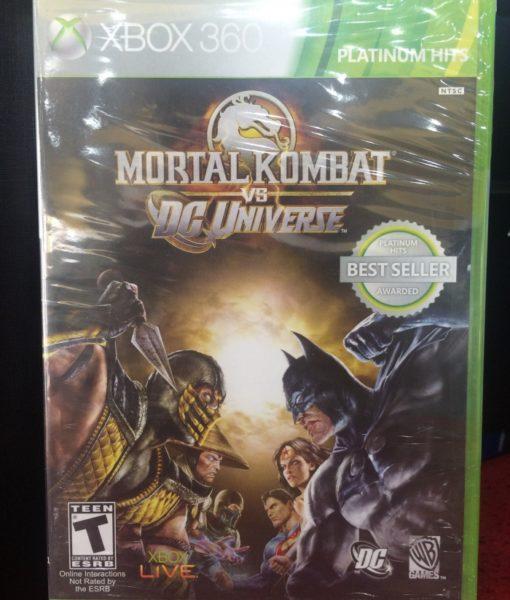 360 Mortal Kombat vs DC Universe game