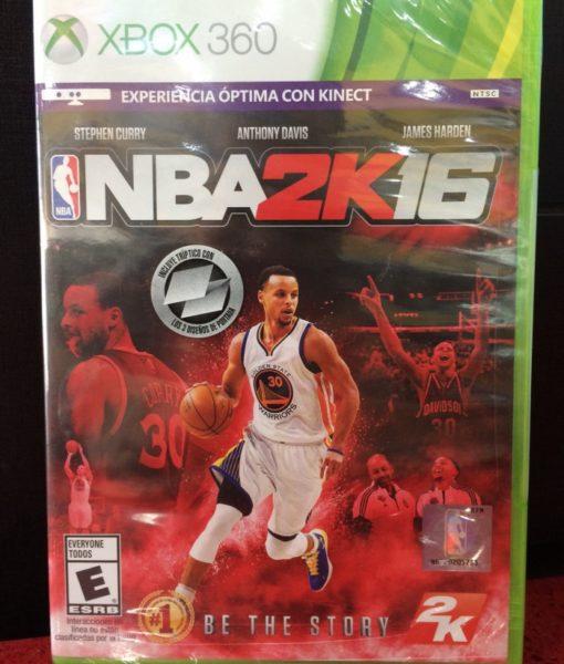360 NBA 2K16 game