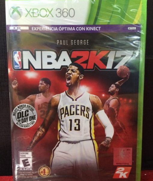 360 NBA 2K17 game