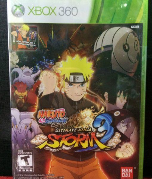 360 Naruto Ninja Storm 3 game